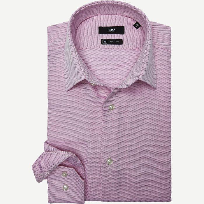 Hemden - Regular - Rosa